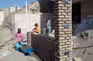 خدمات دیوار چینی با آجر