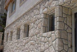 خدمات دیوار چینی با سنگ