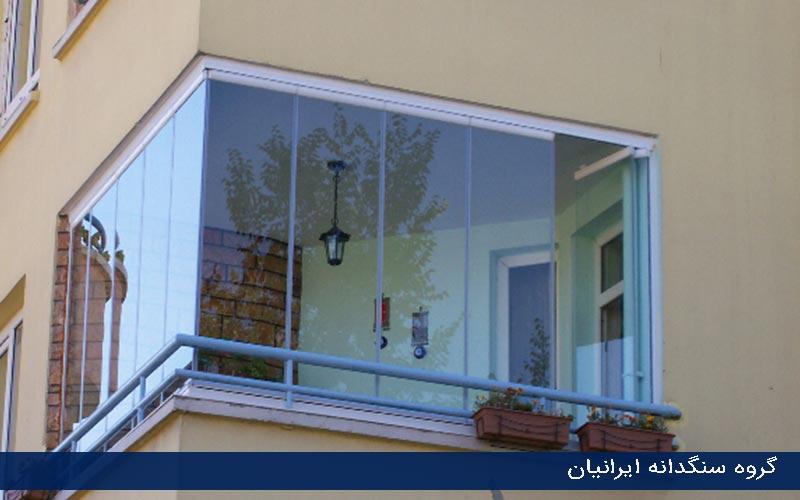 شیشه های نوین ساختمانی