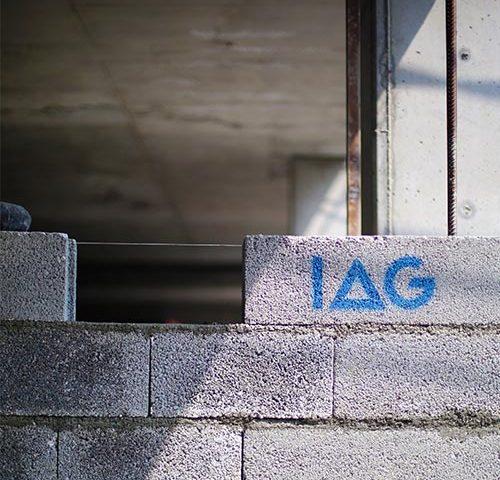 انواع دیوارچینی پارکینگ و ساختمان