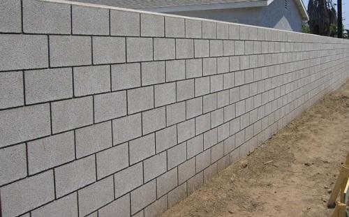 دیوارچینی با بلوک سبک