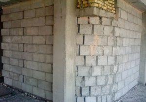 دیوار چینی با بلوک سبک